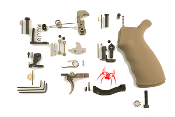 SLPK302 Spike's Tactical AR-15 Enhanced Lower Parts Kit in FDE