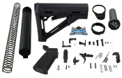 Palmetto State Armory CTR Mil-Spec Lower Build Kit, MAG310-BLK, PSA MOE Lower Parts Kit, PSA Buffer tube kit