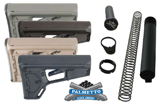 Palmetto State Armory ACS-L Mil-Spec Stock Kit - Various Colors, Magpul ACS-L MAG378