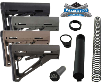PSA Magpul CTR AR-15 Mil-Spec Stock Assembly, MAG310