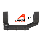 "APRA210100 Aero Precision Ultralight 1"" Scope Mount - Anodized Black"
