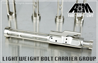 AIM Light Weight Nickel Boron Bolt Carrier Group - AR15 5.56 XAIMBCGNIBLW