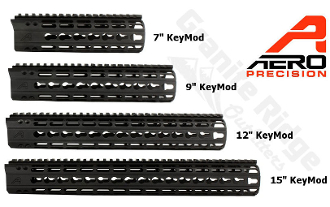 APPG100001 Aero Precision AR15 Enhanced KEYMOD Handguards