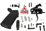 RISE Armament MOE AR-15 Lower Parts Kit - 3.5lb - Various Colors - RA-140-SST and RA-535 APT