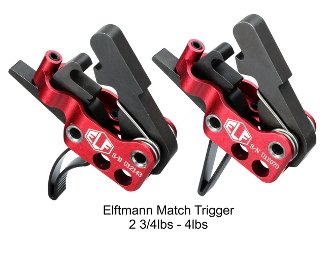 ELF Match Trigger - Curved or Straight 2 3/4lbs-4lbs Drop In - Elftmann Tactical Match-736902490167 - Match-640522126965