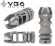 APVG100012A - VG6 Precision Epsilon 556 BBSS Muzzle Device - Bead Blasted Stainless Steel