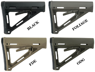 Magpul MOE Mil-Spec Stock - Various Colors