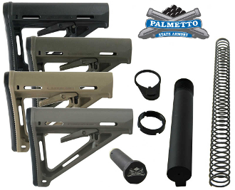 PSA Magpul MOE Premium Mil-Spec Stock Assembly - Various Colors
