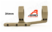 APRA211312 - Aero Precision Ultralight 34mm Scope Mount - SPR - FDE