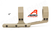 "APRA210710 Aero Precision Ultralight 1"" Scope Mount, SPR - FDE"