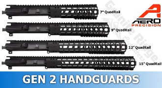 APPG110001 - Aero Precision M4E1 Enhanced Upper/Handguard Combo - Quad Rail GEN 2