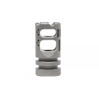 APVG100010A - VG6 Gamma 556 BBSS Muzzle Device - Bead Blasted Stainless Steel - VG6 Precision Gamma 5.56 BBSS