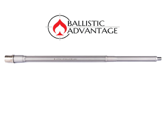 "BABL223022PL - Ballistic Advantage 20"" .223 Wylde DMR Fluted SS Rifle Barrel"