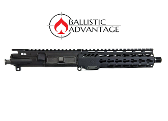 "BAPG100101 - Ballistic Advantage AR15 Complete Upper with 8.3"" .300 Blackout Barrel and 7"" Rail"