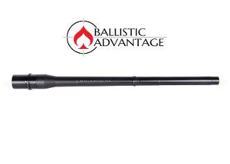 "BABL308003MN Ballistic Advantage 16"" .308 Tactical Government Midlength NON Threaded Barrel"