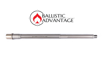 "BABL65G005PL - Ballistic Advantage 16"" 6.5 Grendel SPR Fluted Stainless Steel Midlength AR 15 Barrel, Premium Series"