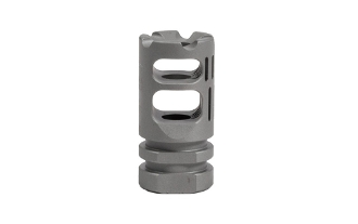 APVG100013A - VG6 GAMMA 300BLK BBSS Bead Blasted Stainless Steel Muzzle Device - VG6 Precision
