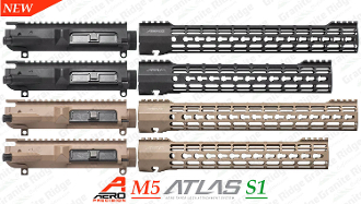 Aero Precision M5 Upper / ATLAS S-ONE Keymod Combo Set