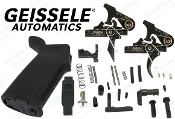 Geissele MOE LPK - AR15 MOE Lower Parts Kit with Choice of Geissele Trigger