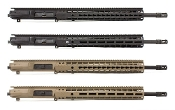 "APPG308554P25 - Aero Precision M5E1 Enhanced 18"" .308 CMV Complete Upper Receiver"