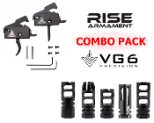 Rise Armament RA-140-SST Trigger + VG6 Muzzle Device COMBO