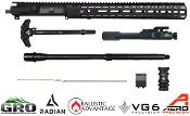 AR15 Enhanced 5.56 Upper Build Kit - GRO - Radian - Aero Precision - Ballistic Advantage - VG6 Precision